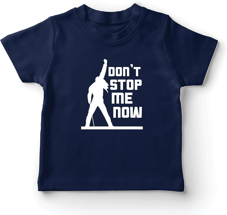 lepni.me Camiseta para Niños Don't Stop me Now! Camisas de Abanico, Regalos de músicos, Ropa de Rock