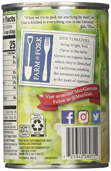 Muir Glen Organic Tomato Sauce - 15 fl oz