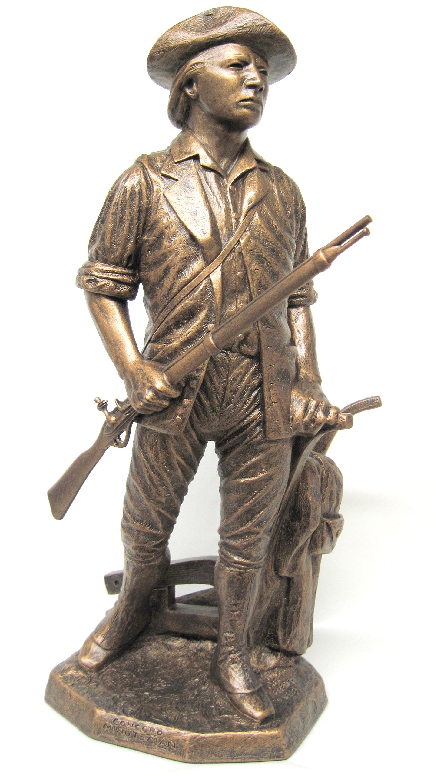 Minuteman Statue, 18'' by Terrance Patterson Gallery (Image #1)