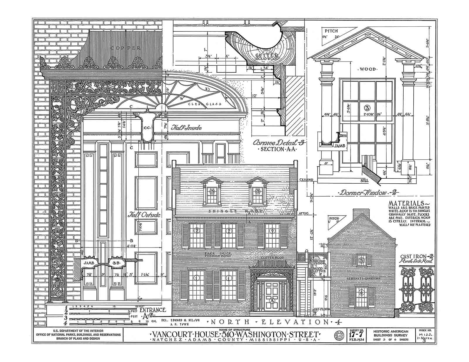 Historic House Plan Drawings of Natchez, Mississippi: J ... on little rock house plans, new haven house plans, charlottesville house plans, winona house plans, hammond house plans, united states house plans, abbeville house plans, new jersey house plans, louisville house plans, pass christian house plans, washington house plans, detroit house plans, iowa house plans, springfield house plans, springhill house plans, brownsville house plans, mississippi gulf coast house plans, oakland house plans, henderson house plans, lexington house plans,
