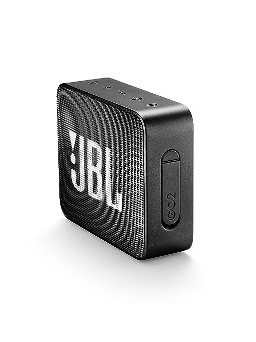 f9185fe5c62 JBL GO 2 Portable Bluetooth Speaker, Black - JBLGO2BLK: Amazon.ae: MPOW2019