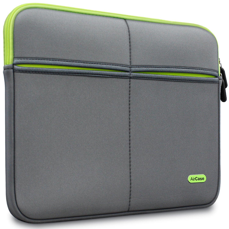 AirCase 14-Inch Laptop Sleeve, Premium, Designer, Suave,