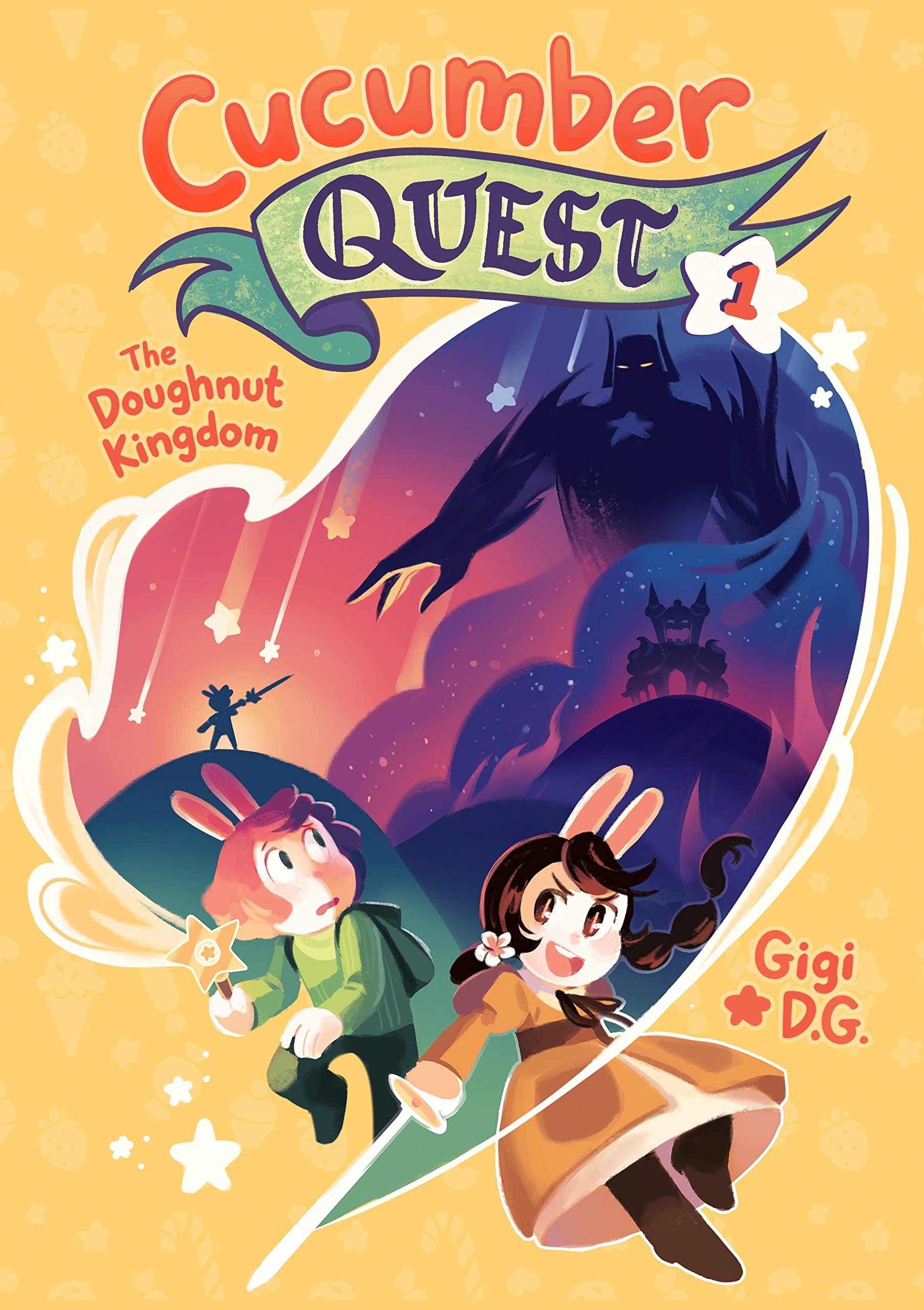 Cucumber Quest: The Doughnut Kingdom: D.G., Gigi: 9781626728325 ...