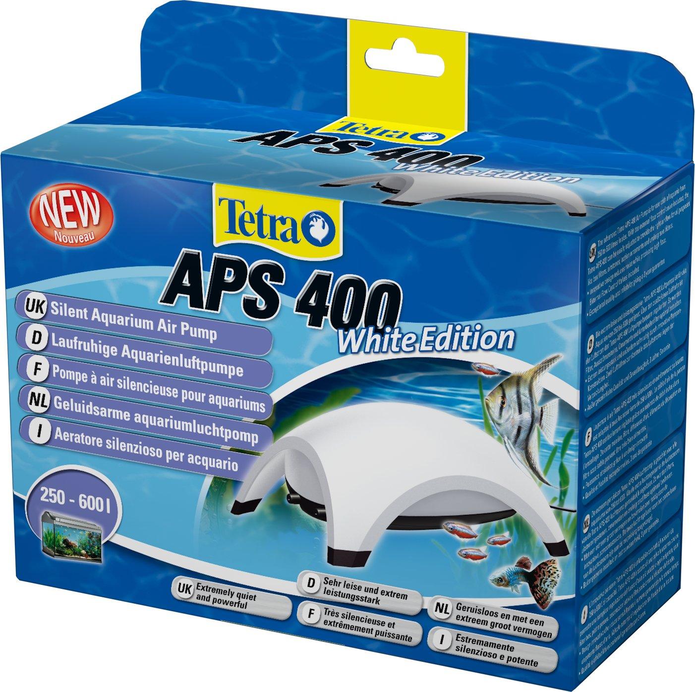 Tetra Pompe à Air pour Aquarium APS Blanc 400 L 212534