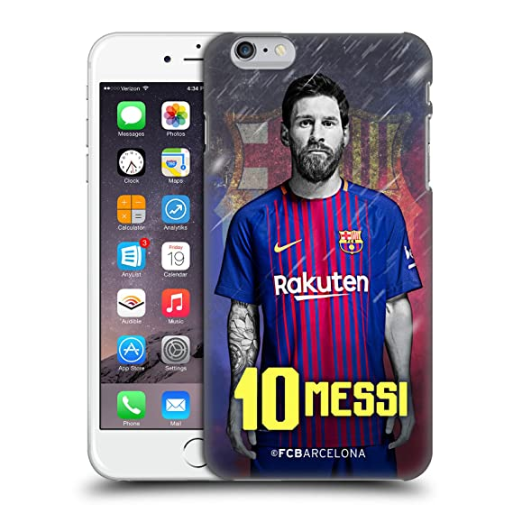 promo code db2d1 70ce1 Official FC Barcelona Lionel Messi 2017/18 First Team Group 1 Hard Back  Case for iPhone 6 Plus/iPhone 6s Plus