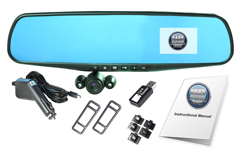 Amazon.com: Official HD Mirror Cam – As Seen on TV Dash Cam 350 ...