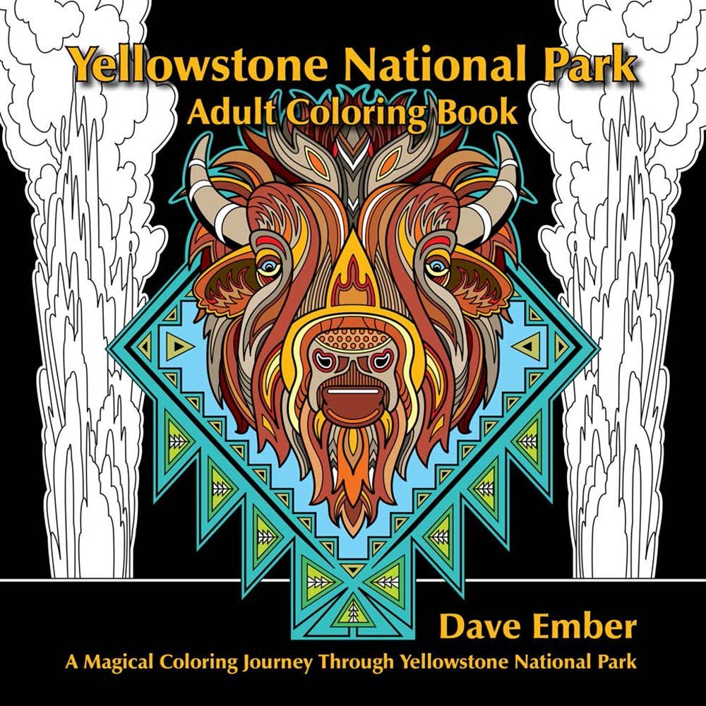 A fun magic coloring book amazon - A Fun Magic Coloring Book Amazon Yellowstone National Park Adult Coloring Book Dave Ember Don