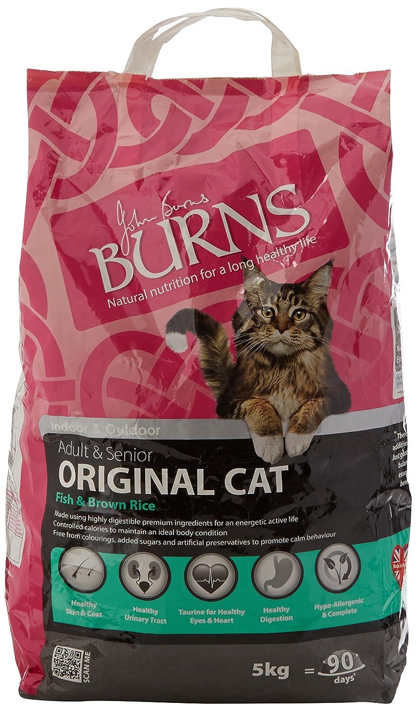Burns Pet Nutrition Cat Food Original Fish, 5kg