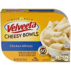 Velveeta Chicken Alfredo Cheesy Bowl 9 oz. Tray