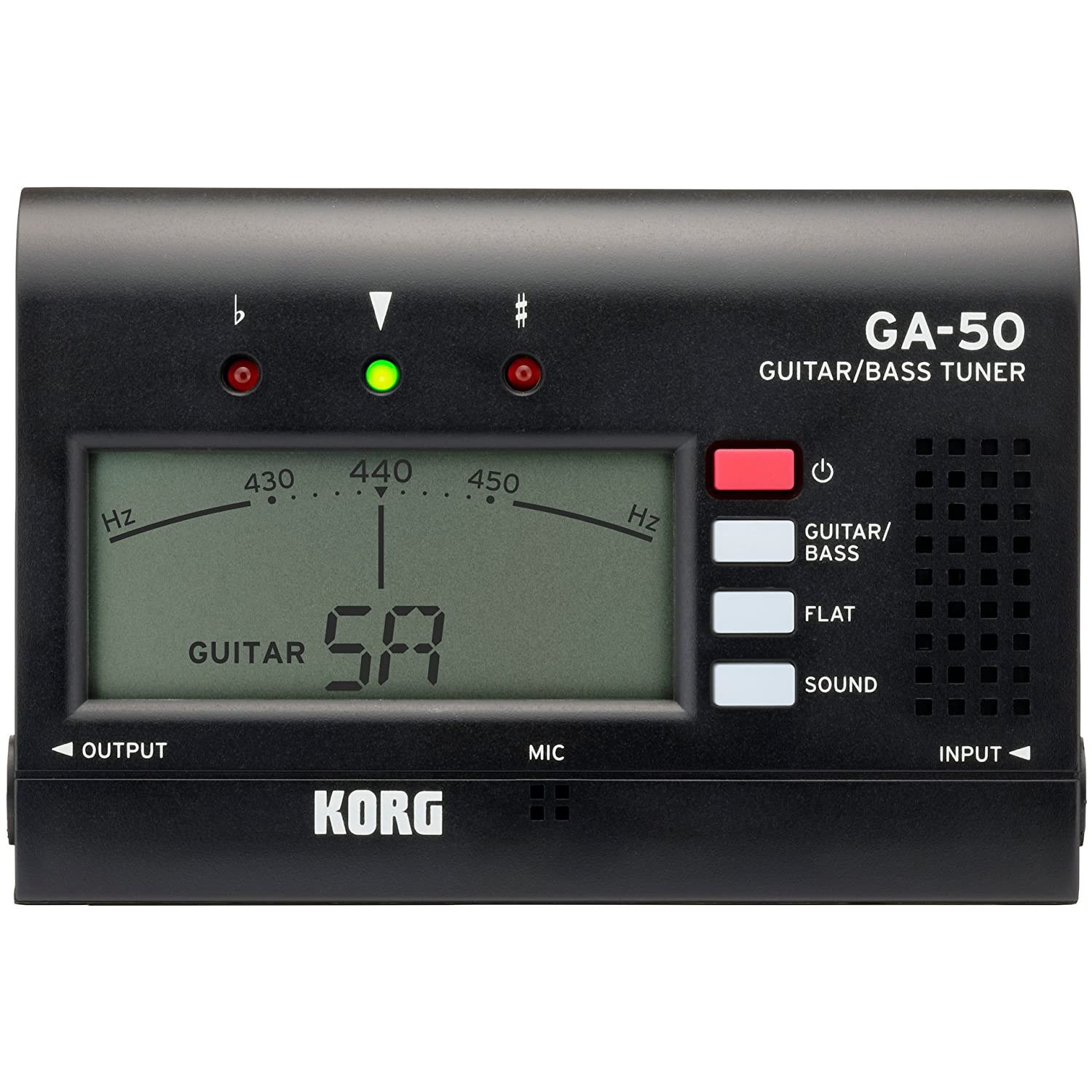 Korg Ga50 Accordeur de guitare Noir Korg USA Inc.