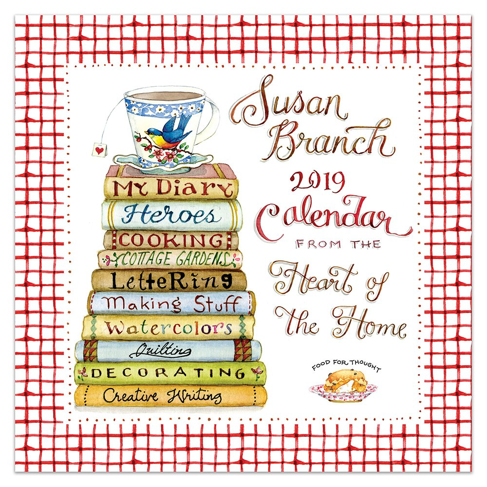 Time Factory Susan Branch Heart of the Home 12'' x 12'' January -December 2019 Wall Calendar (19-1033)