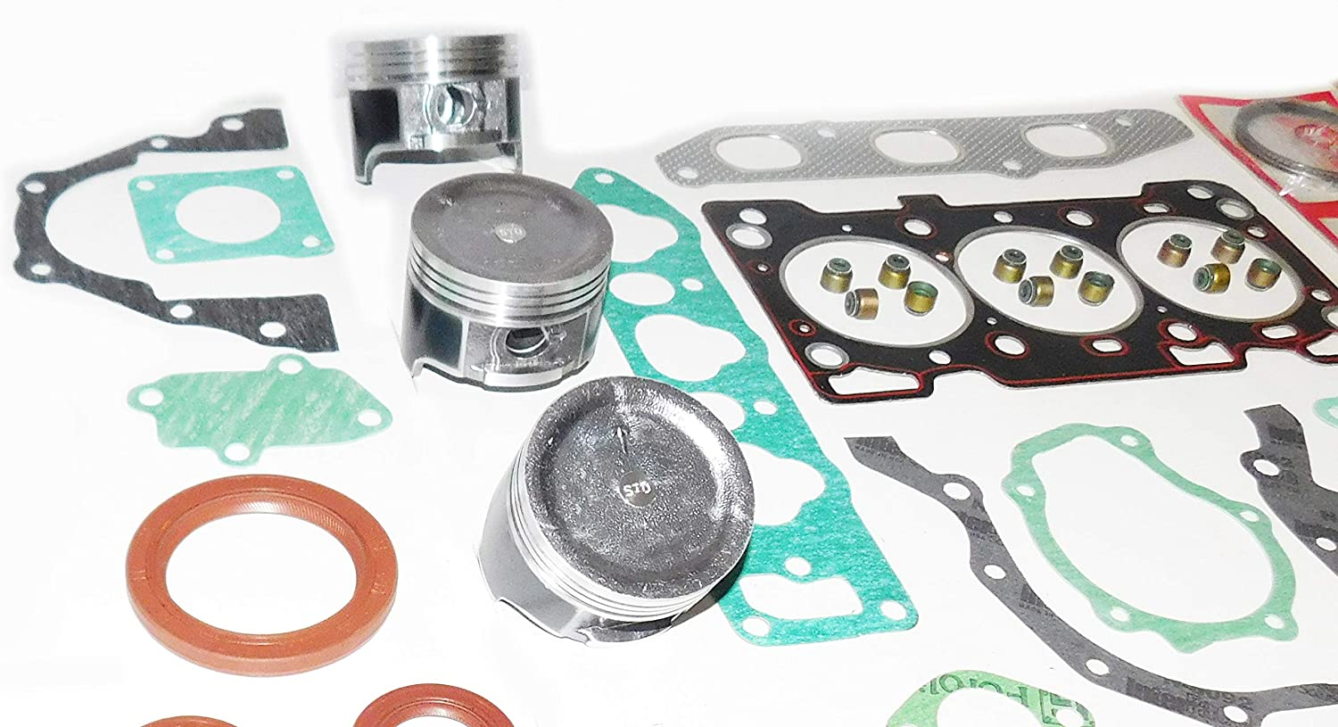 STD 68.5 x 72.0 mm SUZUKI F8D 796 cc 48.6 cu in SOHC 12-valve 3 CYL ENGINE REBUILD KIT RECO KIT PISTONS RINGS GASKET ENGINE BEARINGS FITS MARUTI ALTO 800 MIGHTY BOY CARRY ALTO A STAR CELERIO
