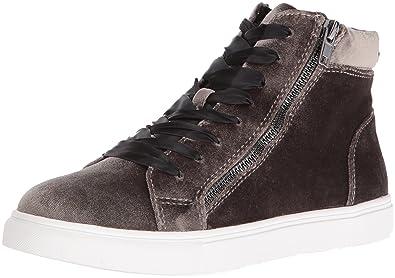 775503f72d6 Steve Madden Women s Earnst-v Fashion Sneaker Taupe Velvet 6 M US