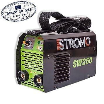 Sudor dispositivo schw Hielo sgerät Inverter inwerter 250 A electrodo sudor dispositivo 4,0 mm: Amazon.es: Bricolaje y herramientas