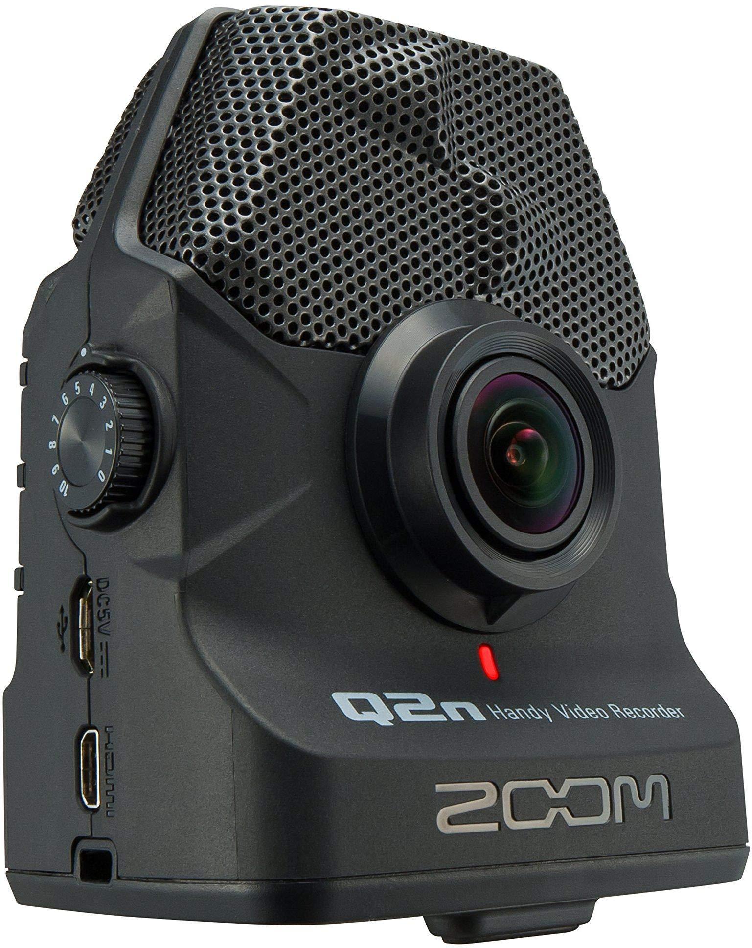 Zoom Q2n Zoom Handy Video Recorder (Black) by Zoom