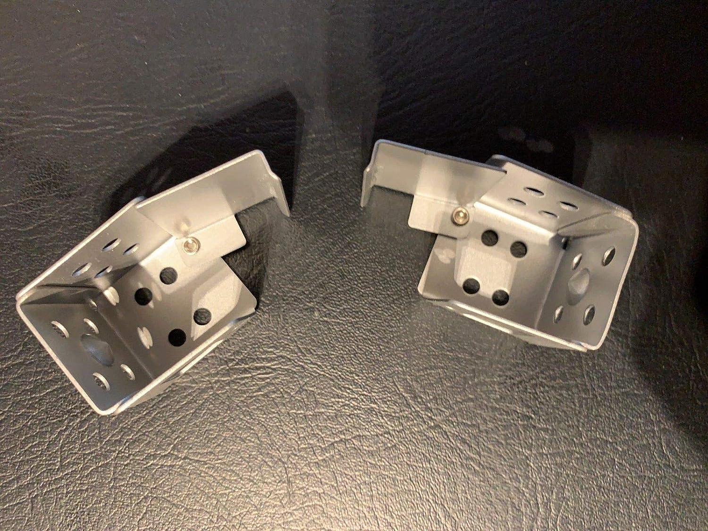 Custom Plus - Soportes para caja de persianas venecianas (25 mm x 25 mm): Amazon.es: Hogar