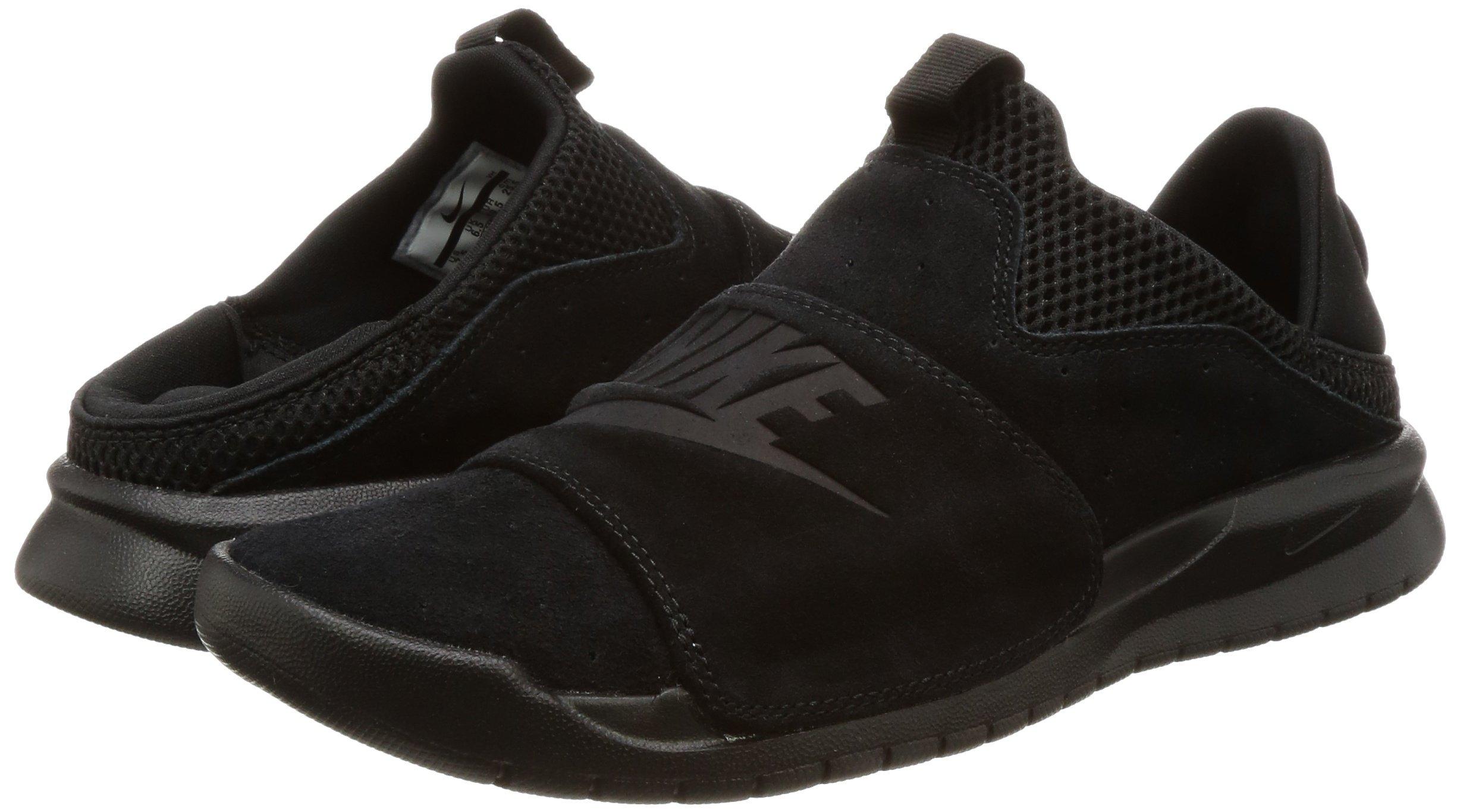 Nike BENASSI SLP Mens fashion-sneakers 882410-003_9.5 - BLACK/BLACK-BLACK by NIKE (Image #5)
