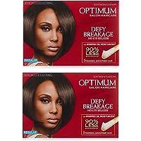 SoftSheen-Carson Optimum Salon Haircare Optimum Care Defy Breakage No-Lye Relaxer, Regular Strength for Normal Hair…