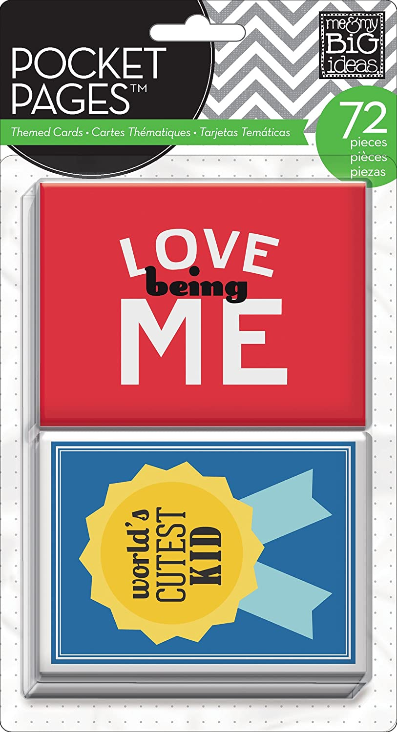 me & my BIG ideas Pocket Pages Journaling Cards, A Kid's Life A Kid's Life TPC-12