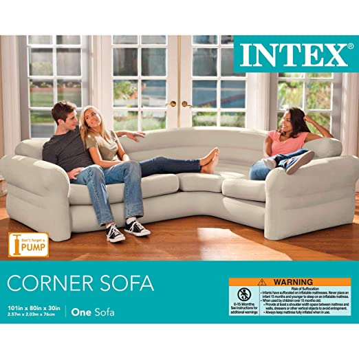 Sofa rinconera hinchable Intex