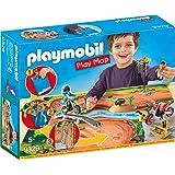 Playmobil Play Map Motocross Juguete geobra Brandstätter 9329