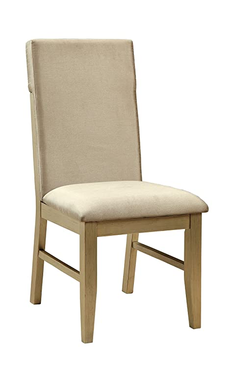 Amazon.com: Muebles de América Faris silla de comedor ...