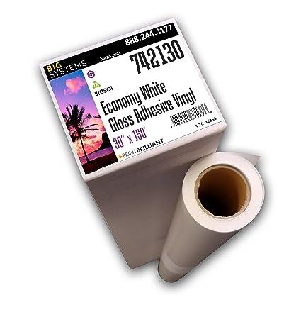 Amazon Com Bigsol Solvent Latex Adhesive Vinyl Roll