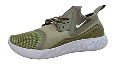 NIKE Lunarcharge Essential Mens Running Trainers 923619 Sneakers Shoes (US  9.5, Medium Olive Light