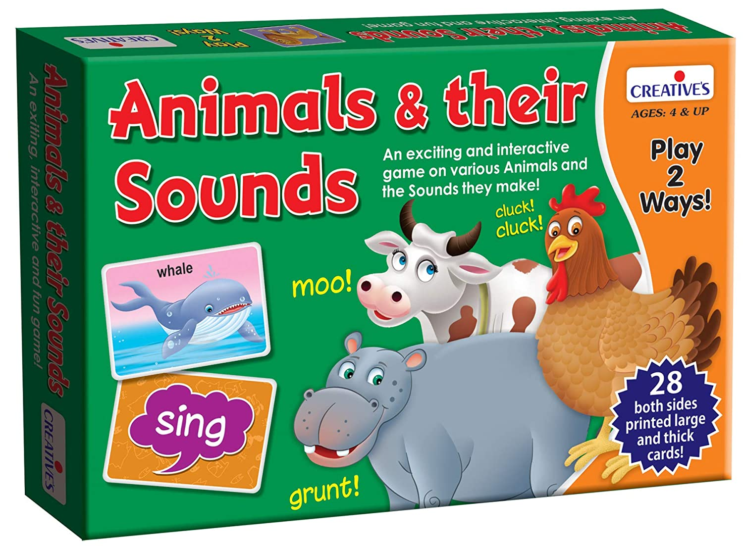 Creative Educational Aids Pvt. Ltd. 0265 Animals and Their Sounds