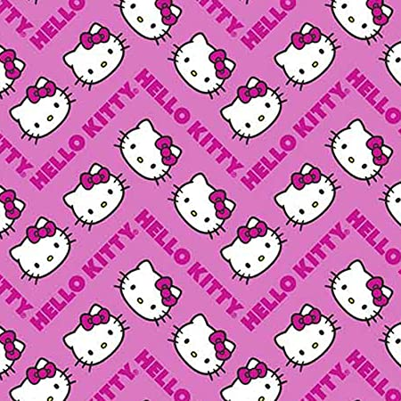 "Hello Kitty Ribbon 1/"" Wide NEW UK SELLER FREE P/&P"
