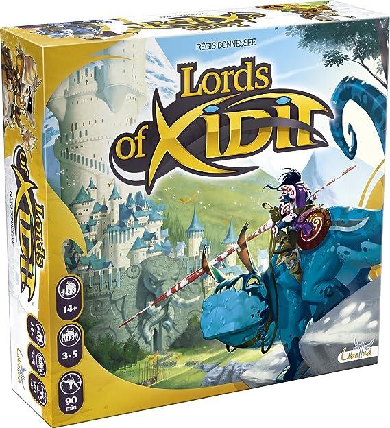 Libellud 002,537 - Señores de Xidit, Juego de Mesa: Amazon.es: Juguetes y juegos