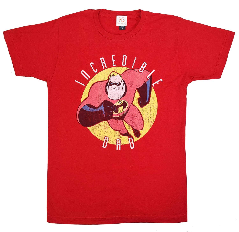 3fd6f3bb Amazon.com: Disney Pixar The Incredibles Incredible Dad T-Shirt: Clothing
