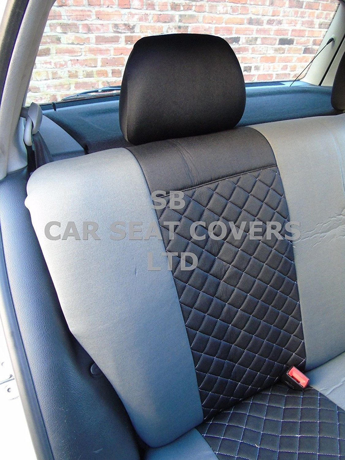 Picasso Grand Picasso  Front Seat Covers  GREY PIPING Citroen C4