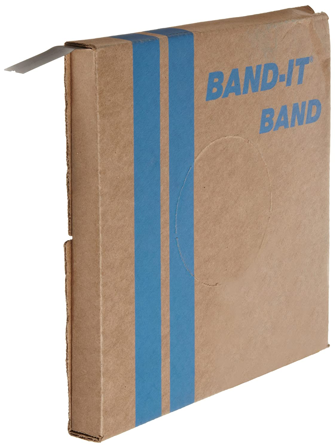 BAND-IT VALU-STRAP Band C13099, 200/300 Stainless Steel, 3/4 wide x 0.015 thick (200 Foot Roll) by Band-It B002LZWBMM