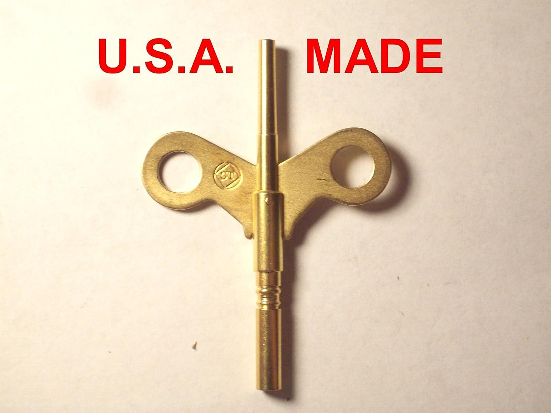 Seth Thomas Trademark Clock Winding Key Double End #6 0000