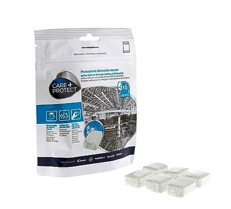 Care + Protect Cuidado lavavajilla - 2 unidades de 6 Tabs: Amazon ...
