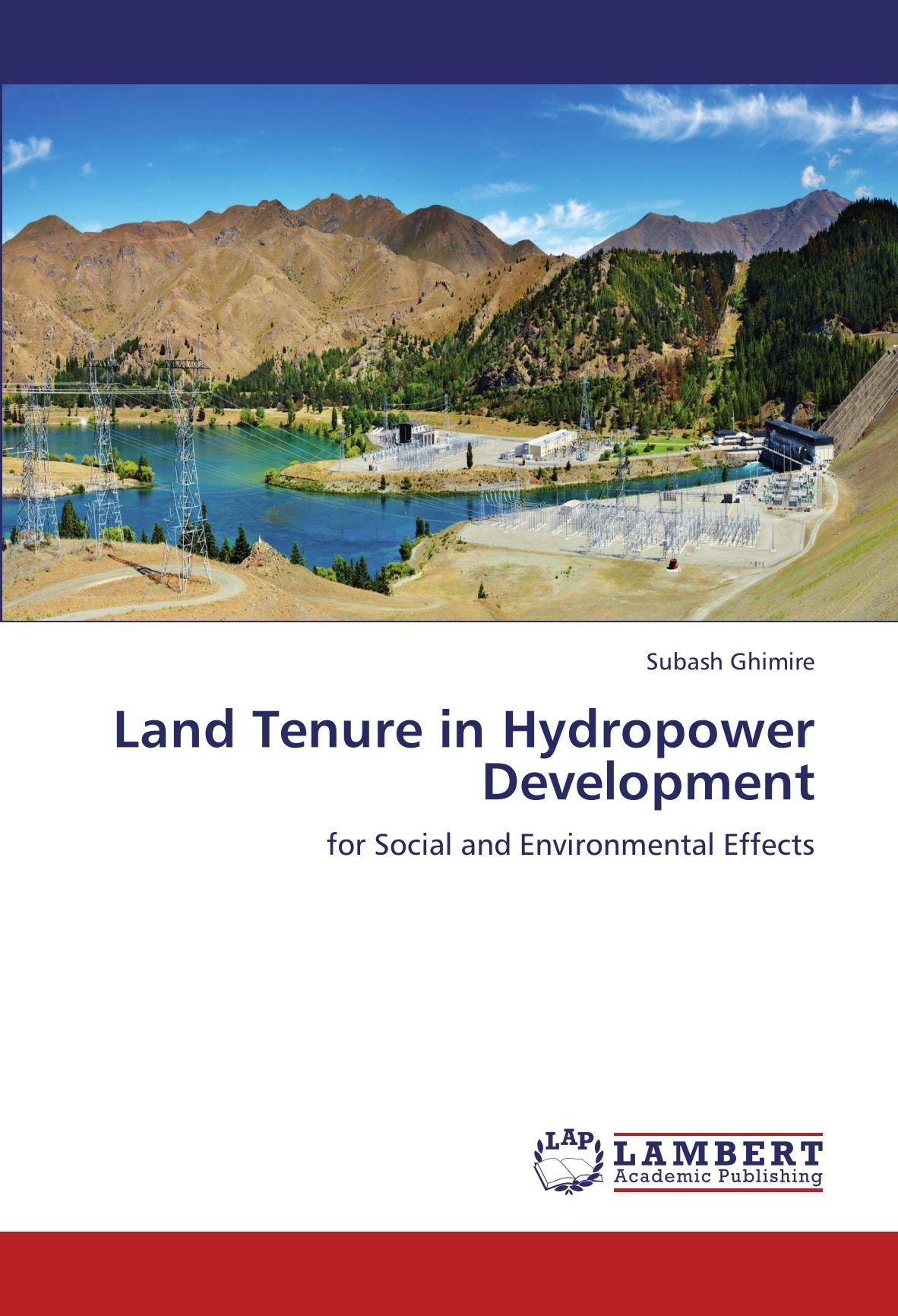 Hydropower Development Book Series