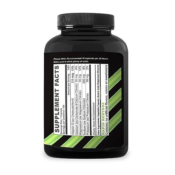 Tabletas de Sal y Electrolito para Corredores y Ciclistas. Las Píldoras (Cuenta de 120) de Sal Tabletas de Electrolitos de Calificación #1 en Amazon ...