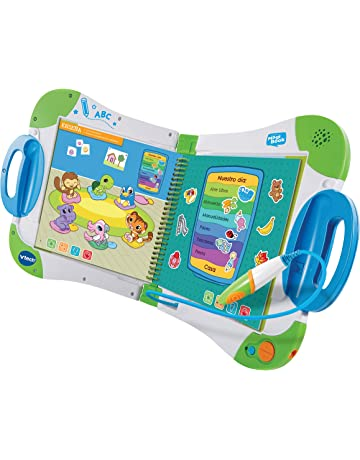 VTech-80-602122 Sistema de Aprendizaje Interactivo, MagiBook Color Verde 3480-602122