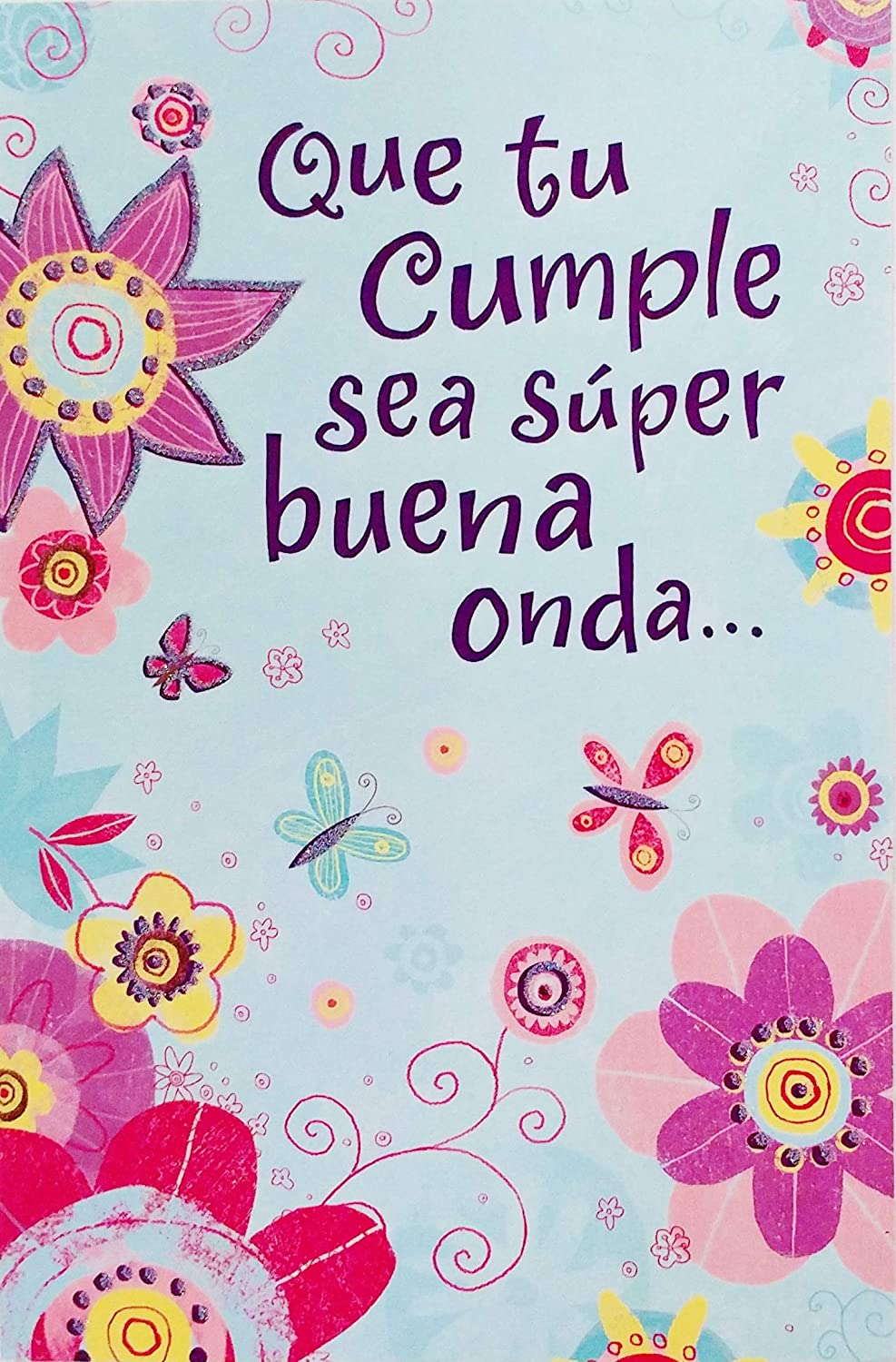 Amazon.com : Que Tu Cumple Sea Super Buena Onda Y Te Deje ...