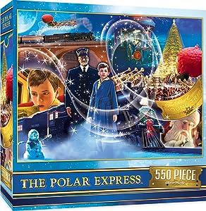 MasterPieces Holiday Polar Express Jigsaw Puzzle, 550 Pieces