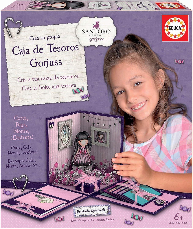 Educa Borrás-Mi Caja Secreta Gorjuss, Color único (17920): Amazon.es: Juguetes y juegos