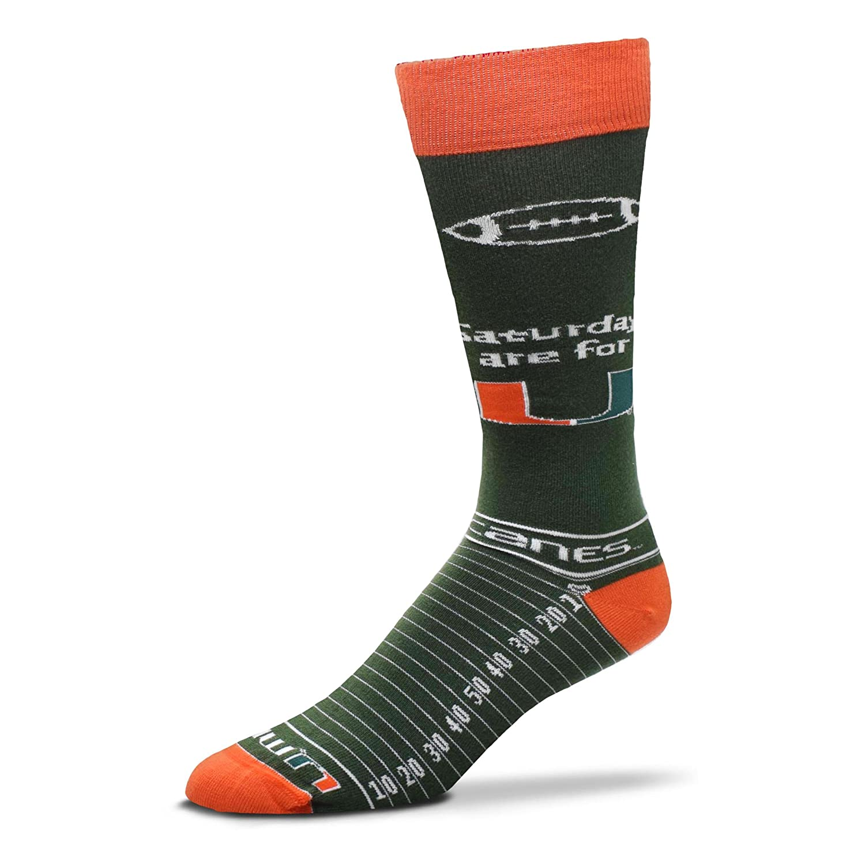 For Bare Feet NCAA Saturday Gameday Dress Socks