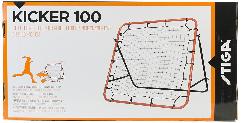 Stiga Prellwand Kicker 100 Red para rebotes, Unisex, Naranja-Negro, estándar