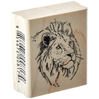 Stamps by Impression ST 0766a Lion Rubber Stamp: Arts, Crafts & Sewing