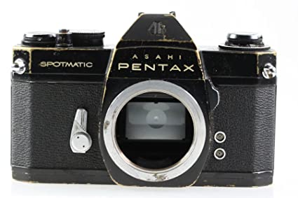 7cfae8b8a Amazon.com: Pentax Asahi SP II 2 Spotmatic Body Camera Reflex Black ...