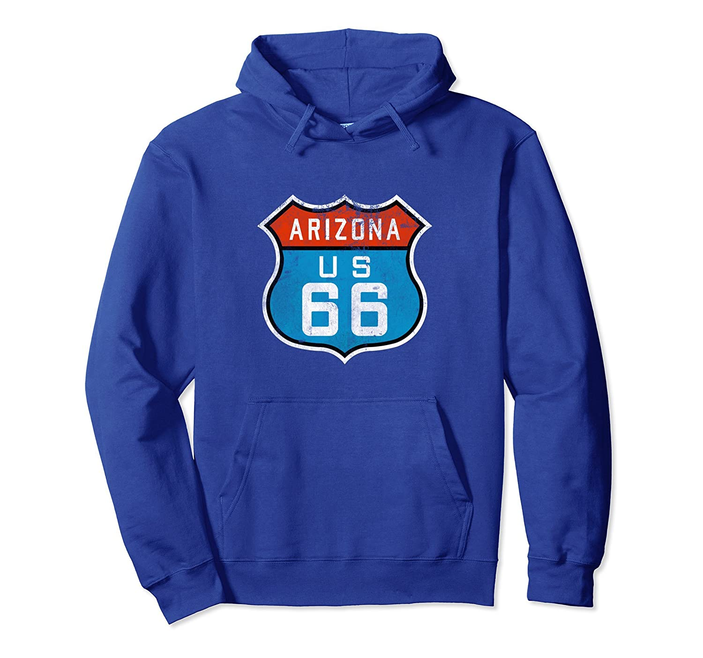 Arizona Route 66 Retro Hoodie, Distressed Souvenirs Tee-alottee gift