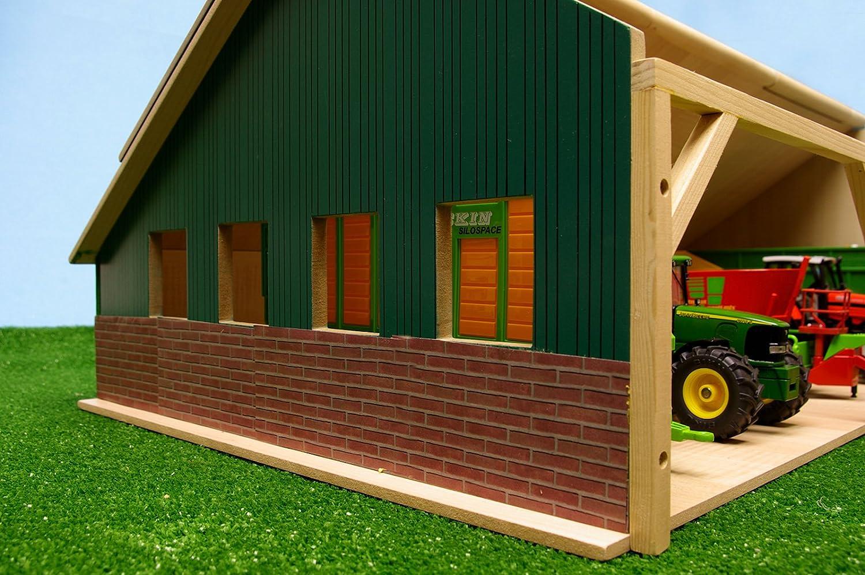 Kids Globe 610224 - Salón de Maquinaria Agrícola de Siku: Amazon.es: Juguetes y juegos