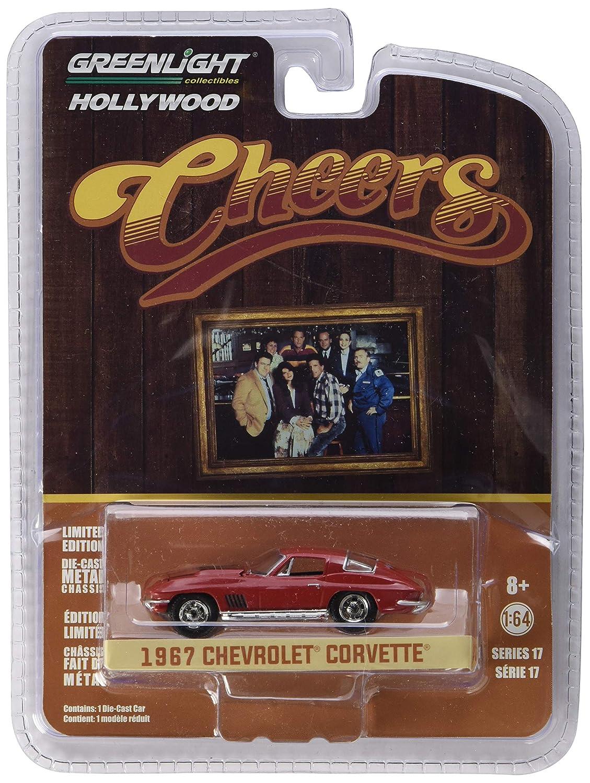 Greenlight 1 64 Hollywood Series 17 Cheers 1982 93 Tv Series Sam'S 1967 Chevrolet Corvette 44770 B