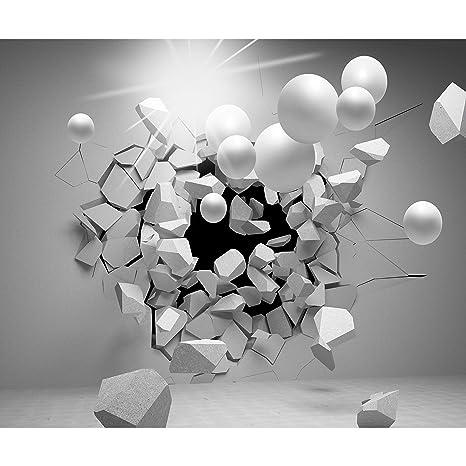 Decomonkey Papier Peint Intisse 3d Effet Abstrait Abstraction